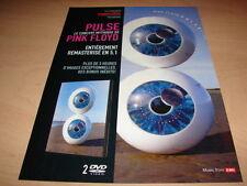 PINK FLOYD - PULSE!!!!!!!!!!!!!!!!!! PUBLICITE / ADVERT