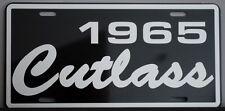 1965 65 OLDS OLDSMOBILE CUTLASS METAL LICENSE PLATE F-85 S 442 350 400 455 HURST