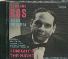 EDMUNDO ROS AND HIS ORCHESTRA - TONIGHT'S THE NIGHT - CD