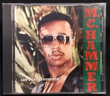 Let's Get It Started By M.C. Hammer CD 1988 Capitol Records