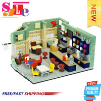 MOC-46310 Gilmore Girls - Luke's Diner Building Blocks Good Quality Brciks Toys
