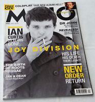 MOJO #137 April 2005 Engl. Joy Division New Order Coldplay Ian Curtis John NO CD