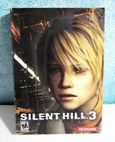 Silent Hill 3 Konami PC 6 CDROM Akira Yamaoka Soundtrack Box Included No Manual