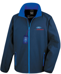 Official Licensed Ford Performance Soft Shell Racing Track Jacket