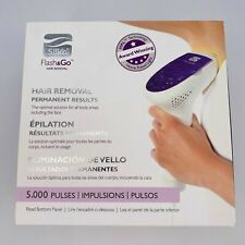 SILK'N Flash&Go Permanent HomeHair Removal Device Pulsed Light Face/ Body No Box