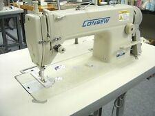 Consew 7360RH Single Needle Sewing Machine with 3/4HP SERVO MOTOR AND TABLE K.D.