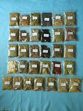 Herbs for Witchcraft/choose from 31 herbs in 20gram, 50gram or 100gram packs