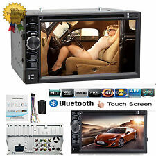 "Digital 6.2"" LEDTFT Double 2 DIN Car CD DVD Player FM AM Radio Stereo For Volvo"