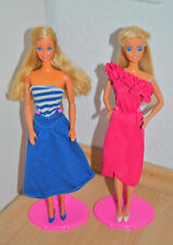 Barbie Fashion Play und Barbie and the Rockers in Fashions 2 Puppen 80er