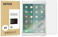 TWIN PACK SDTEK Tempered Glass Screen Protector for iPad Air 3 (2019) 10.5 inch
