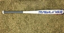 RAWLINGS BBCOR BB8V3 velo adult bat 32in-29oz -3  white/blue new in wrapper