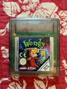 WENDY Every Witch Day - Jeu Nintendo Game Boy Color TBE Rare