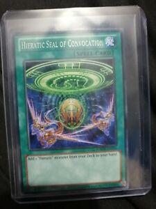 "Yu-Gi-Oh! TCG: ""Hieratic Seal of Convocation"" Rare NM (GAOV-EN056)"