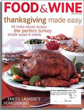 Food & Wine - 2000, November - Thanksgiving Made Easy, The Perfect Turkey