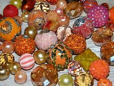 NEW RANDOM PICK 25/pc Jesse James mixed beads lot loose Beads Oranges Free ship
