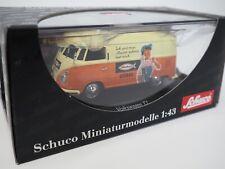 Schuco 1:43 Volkswagen T1 VW Bulli Bus Fischer Dübel