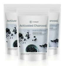Activated Charcoal Capsules 300mg Reduce Excessive Flatulence VEGAN - UK Made