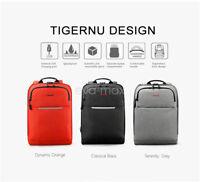 Tigernu USB Charge PC portable Business Sac à dos imperméable  sac d'école