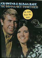 BUCK OWENS/SUSAN RAYE LP We're Gonna Get Together:Together Again, Cryin Time