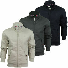 Crosshatch Funnel Neck Cotton Men's Coats & Jackets