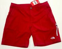 THE NORTH FACE MENS PACIFIC CREEK BOARDSHORTS SWIMSUIT SWIM TRUNK RED NEW 36
