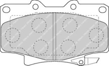 Front Brake Pad Set Fits Toyota OE 446560020 Ferodo FDB1502