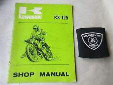 KAWASAKI KX125 MOTORCYCLE SERVICE SHOP REPAIR MANUAL 99997-708