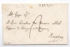 Prefilatelica prephilatelic 30 Giugno 1831 da Imola per Ravenna