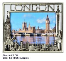 24 X Metal Photo Picture Frame London Souvenir Gift Wholesale Job Lot