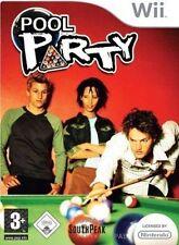 Nintendo Wii * Wii U WiiU Spiel * Pool Party * Billard Snooker **********NEU*NEW