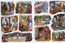 # GLANZBILDER # MLP 1565, religiöse Motive, Neues Testament, 70er Jahre, RAR