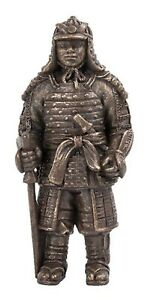 Miniature World Samurai Bronze Statue (MW09-037)