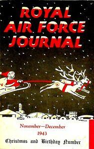 RAF JOURNAL NOV-DEC 1943: POWs/ A.T.A./ WAAF ASSESSOR/ PHOTO-REC/ DOWNLOAD