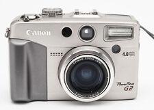 Canon PowerShot G2 Kompaktkamera Digitalkamera Kamera Camera 4.0MP