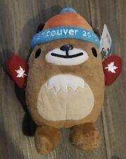 "Vancouver 2010 Olympics Mascot MukMuk w/ Red Mittens - Medium 7.5"" Tall - RARE!"