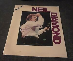 Neil Diamond Tour 1986 Program Tour Book VG Complete The Jazz Singer