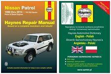 Nissan Patrol GU Y61 (1998-2014) - instrukcja napraw Haynes