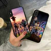 Toy Story 4 Woody Buzz Lightyear Silicone Phone Cover Case for iPhone Samsung