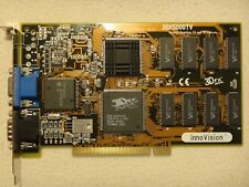 innoVision 3Dfx Voodoo Cyber 3DX5000 4MB PCI VGA 3D Graphics Accelerator *Boxed*