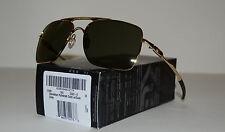 NEW Oakley Deviation Sunglasses Polished Gold w/ Dark Grey Lens 004061-02