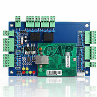 WIEGAND TCP/IP Network Access Control Board Panel Controller For 2 Door 4 Reader