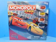 Disney Cars Monopoly Junior Board Game New!