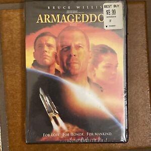 ARMAGEDDON New Sealed DVD Widescreen Bruce Willis