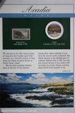 2004 Acadia National Park TIMBRE colorisée 1 oz (environ 28.35 g) Silver Eagle COIN cover