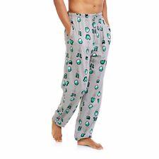 Minecraft Men's Sleep Pants Size 2XL 44-46 100% Cotton Drawstring New Gray