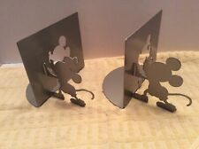 Michael Graves Design Zak Designs Disney's Mickey Mouse Gray Metal Bookends