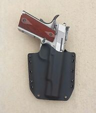 "OWB Black Kydex Holster 1911 Full Size 5"" ""GI spec"""