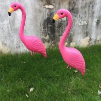 Looking Down Flamingo Yard Garden Lawn Art Ornaments Decor DIY Crafts