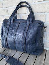 Fredsbruder     Caennchen   Tasche Leder Crossbag Beutel  Bag Shopper  blue