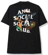 Anti Social Social Club Birdbath Tee Black Feather Logo Mens Size XL DS New